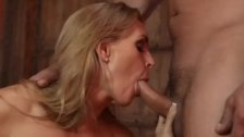 Hot MILF gets a cock inserted inside - duration 26:35