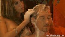 Stunning MILF Massage And Handjob