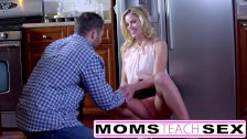 MomsTeachSex - Showing My Teen Daughter How To Suck Big Cock