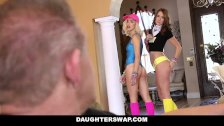 Horny Daughters Fucked Before Rave