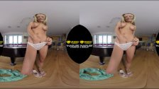 VR3000 BilliardsBabe Starring Molly Mae 180° HD VR Porn