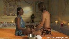 Deep Ebony Massage From India