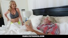 FamilyStrokes - Sexy Housewife Fucks Her Stepson - duration 9:27
