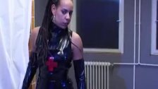 German Latex Fetish Lesbians Hospital - duration 8:00