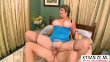 Old Step Mom Victoria Peale Gives Blowjob Hot Hot Dad's Friend
