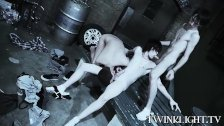 Horny vamps enjoy a fuck fest in three - duration 9:01