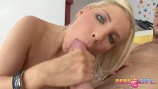 PervCity Blonde Anal Slut Ashley Fires Get A Cum Martini - duration 11:48