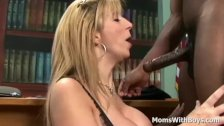 Mature Boss Sara Jay Interracial Sex Applicant - duration 12:00