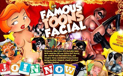 Famous Toons Facials