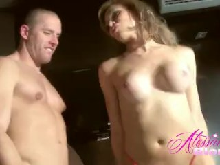 Alessandra Blonde Lets Sebastian Sebastian Play Cock