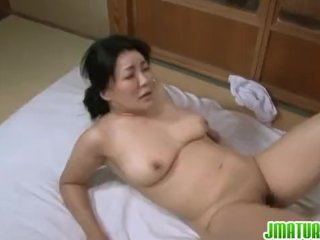 Mature Gets Sex Action With Cum Eating P