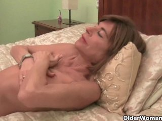 Little Granny Maria Loves To Masturbate