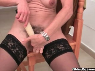 Hairy Grannies Love To Masturbate