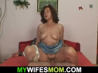 She Finds Her Old Mother Riding Her Husband