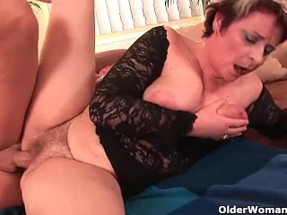 Cock Hungry Granny Takes Your Cum Load