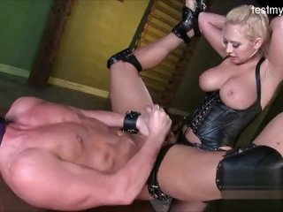 Busty Girlfriend Bondage Slave