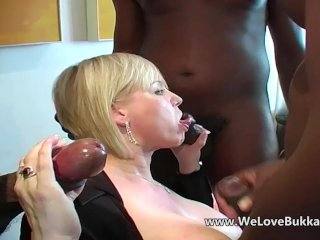 Busty Mature Allowed Anal From Huge Black Cock