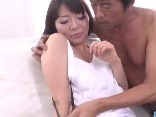 Izumi Manaka Hot Milf Gets Ready For A Boy