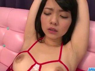 Sexy Bondage Porn Show Along The Brunette Hikaru
