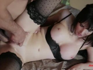 Diana Prince Brunette Nailed By Milf