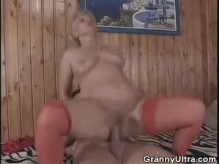 Granny Gets Fucked After Sucking Dick