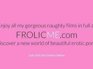 Frolicme - Nice Blonde Teases Friend Before He Fucks Him