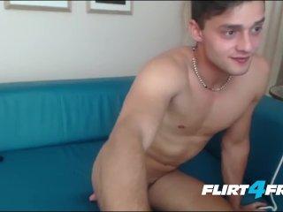 Young Next Door Shows His Beautiful Uncut Cock