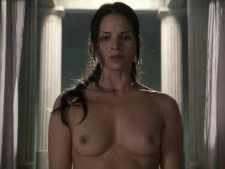 Lucy Lawless Nude Tits Scene In Spartacus