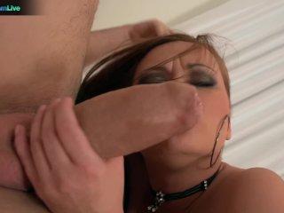 Busty Brunette Katja Kassin Seduces Her Husband For A Quickie