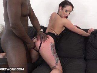 Mature Babe Gets Pussy And Anal Fucked And Creampied In Hardcore Porno Video