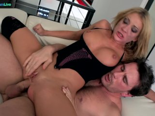Blonde Amy Brooke Sexy In A Wild Hardcore Kinky Sex