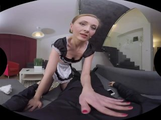 French Maid Luca Bella Has Many Sexual Fantasies
