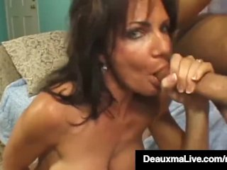 Brunette Milf Deauxma Gets Fucked By Dude With Final Squirt!