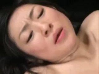 Asian Japanese Milf And Boy Having Fun