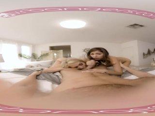 Vrbangers - Bridesmaids Mia Malkova & Amp; Riley Reid Fucking
