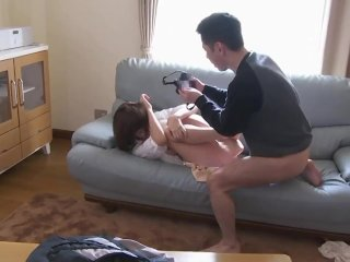 Asian Mother-In-Law Fujisaki Used And Abused
