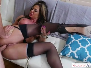 Beautiful Mother In Stockings Nina Dolci Loves Hard Cock