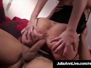 Blonde Hottie Milf Julia Ann Gets A Dick Of Denis Marti