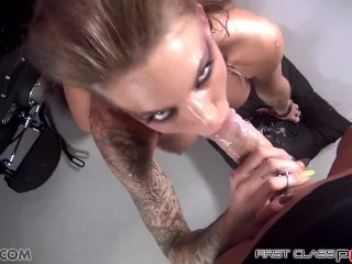 First Class Pov - Juelz Ventura Take A Big Cock In Her Mouth, Big Boobs