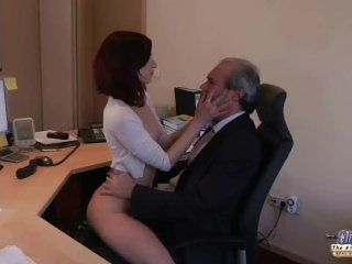 I Am A Young Secretary Who Seduces My Boss In The Office And Asks For Sex