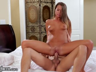 Jill Kassidy Craves Stepbrother's Cock And Juicy Load
