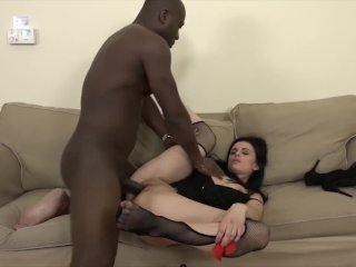 Anal Teen Interracial Gets Fucked Big Black Cock She Loves It Hardcore