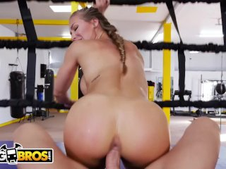 Bangbros - Big Tits Babe Nicole Aniston Gets Her Pussy Trained In The Gym