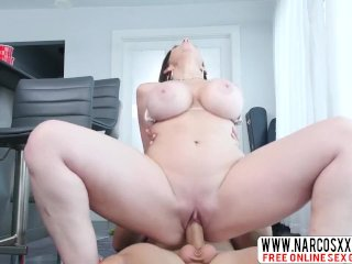 Scary Non-Aunt Sara Jay Needs A Quick Cock