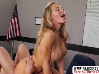 Hot Blonde Stepmom Nicole Aniston Works As A Teacher