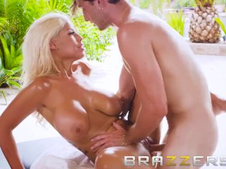 Milf Bridgette B Gets A Good Massage - Brazzers