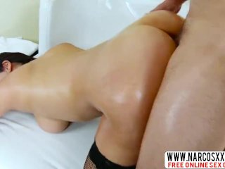 Crazy Milf Valentina Nappi In Stockings Likes Hardcore Fuck