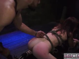 The Helpless Teenager Of The Dog Slave Kaisey Dean Was