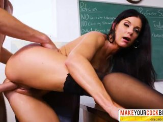 Cruel Step Mother India Summer In Stockings Lets Hardcore Fuck