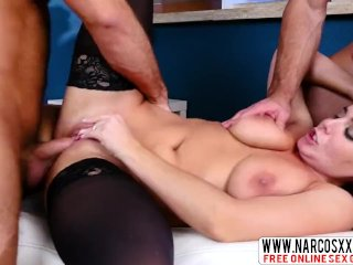 Trustworthy Not Mother Natasha Nice In Stockings, Threesome
